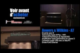 Bowers & Wilkins A7 enceinte sans fil AirPaly