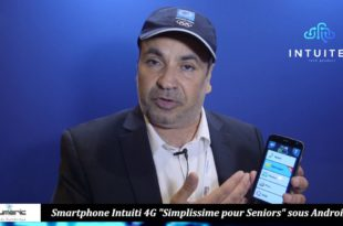 Smartphone Intuiti 4G Simplissime pour Seniors sous Android