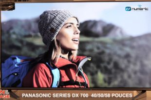 TV Panasonic DX 700 écran LED 4K UHD