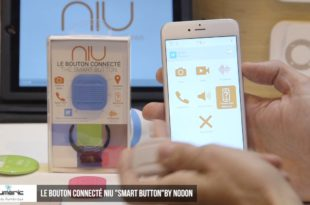Le bouton connecté NIU « Smart Button » by Nodon