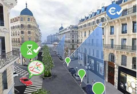 ParkingMap en test à Paris