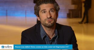 Rémy Oliel  CEO & cofondateur  de Clotoo l'impression 3D collaborative