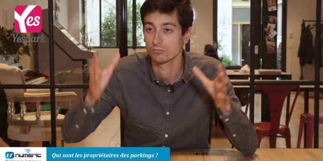 Yespark, location de parking – Thibaut Chary, cofondateur et CEO