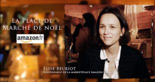 La Place de Marché de Noël – Elise Beuriot, responsable de la MarketPlace d'Amazon France