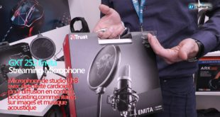 Trust Gaming -Microphone streaming Emita et Mantis