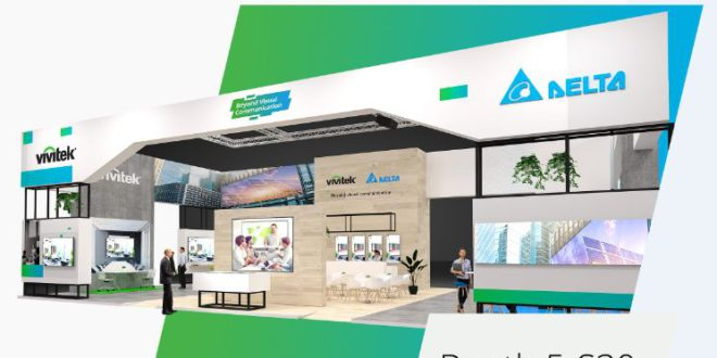 À ISE 2020, VIVITEK ET DELTA DISPLAY SOLUTIONS  REPOUSSENT LES FRONTIÈRES DE LA COMMUNICATION VISUELLE